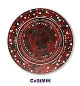 CaSiMiR 杯墊【生命喜慶】