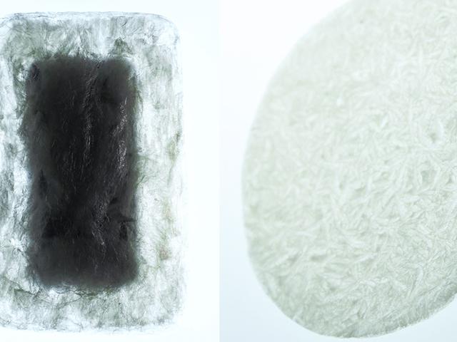 日本寒天包裝設計 自動分解有益土壤保水