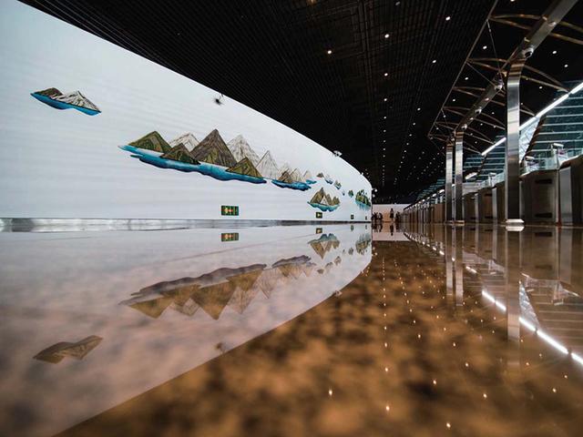 旅人的溫暖停靠站 公共藝術妝點桃機第一航廈