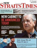 New Straits Time 12 May 2018