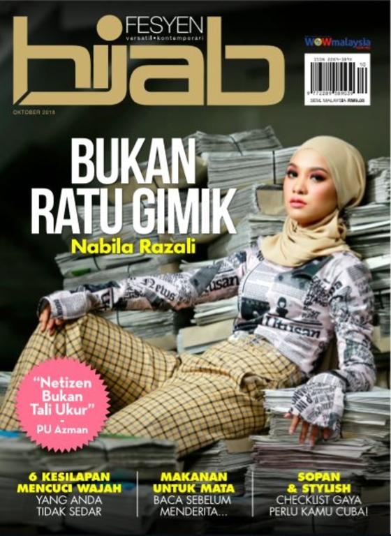 Hijab Fesyen Oktober 2018