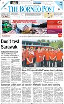 The Borneo Post 25 March 2019