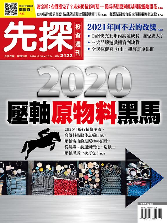 【先探投資週刊2122期】2020壓軸原物料黑馬