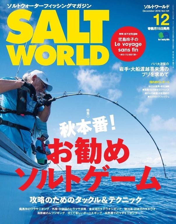 SALT WORLD 2016年12月號 Vol.121 【日文版】